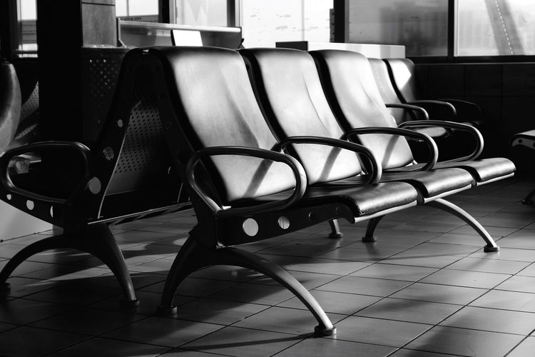 Waiting Room Chairs Chair Seat Indoors  No People Absence Flooring Empty Still Life Day In A Row Furniture