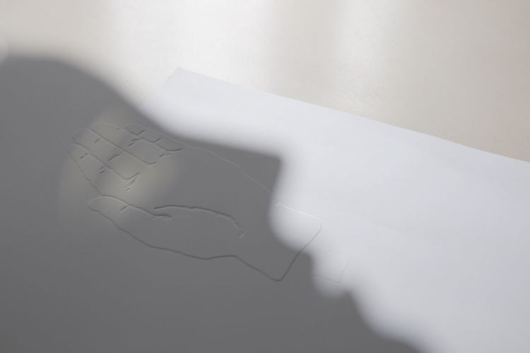 Close-up of white paper