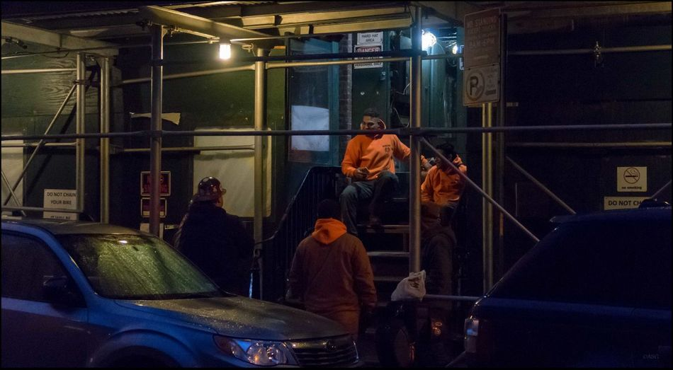 The Workmen - 1/3/17 EyeEm StreetPhotography, NYC Fresh On Market 2017 Illuminated Malephotographerofthemonth Night The Journey Is The Destination