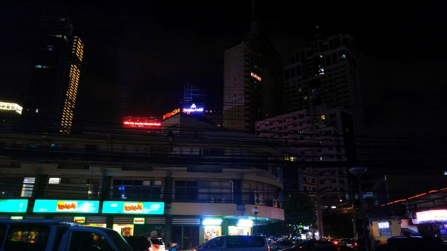 Cities At Night Makati City, Philippines. Philippine CitySkyline Night Photography Night Lights Busy Day Busy Street Urban Life Urban Living Cityscapes