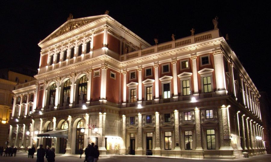 Taking Photos At Musikverein in Vienna Austria