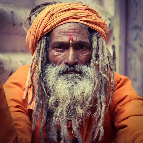 The Portraitist - 2017 EyeEm Awards India Spiritual Front View Only Men One Man Only One Person Portrait Headshot Mid Adult Men Mid Adult Adults Only Adult Looking At Camera Close-up People Day Men Outdoors Real People Human Body Part Young Adult