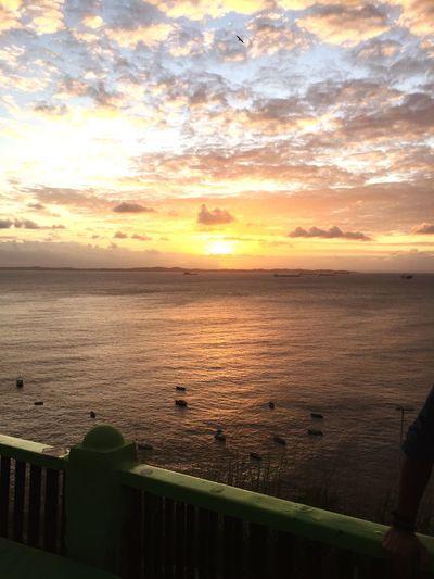 Por do sol na Baia de todos os Santos First Eyeem Photo