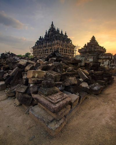 Sunset Temple Temple - Building Travel Destinations Architecture Religion Sky Spirituality Tourism History Old Ruin Scenics