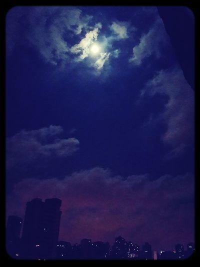 20th August Blue Moon Taking Photos