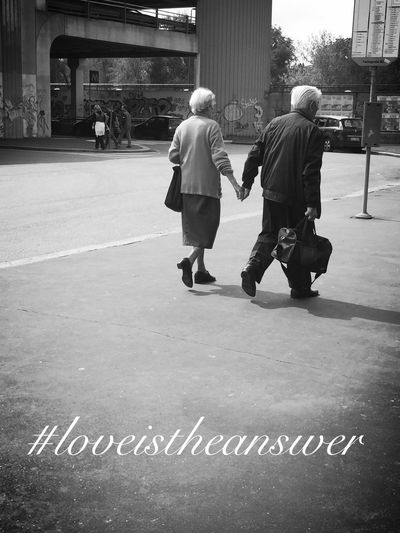 Love is the answer❤️ Loveistheanswer