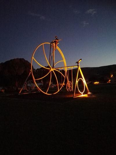 bike and swing