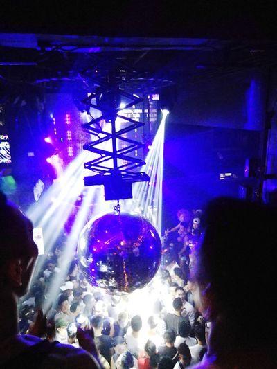 club ball Asian  Thailand Bangkok Thai Popular Music Concert Fan - Enthusiast Crowd Audience Illuminated Nightclub Men Nightlife Performance Togetherness Disco Lights Disco Ball Disco Dancing Entertainment Club Dj Party Laser