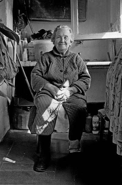 Grandma Remembering The Portraitist - 2016 EyeEm Awards Black And White Friday