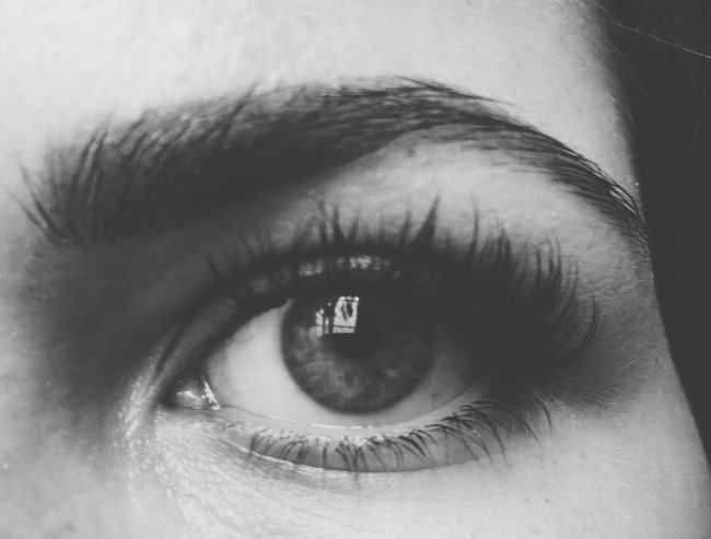 Close your eyes, so you can see Deceptively Simple Eyes BlueEyes Blackandwhite Sight Human Gift
