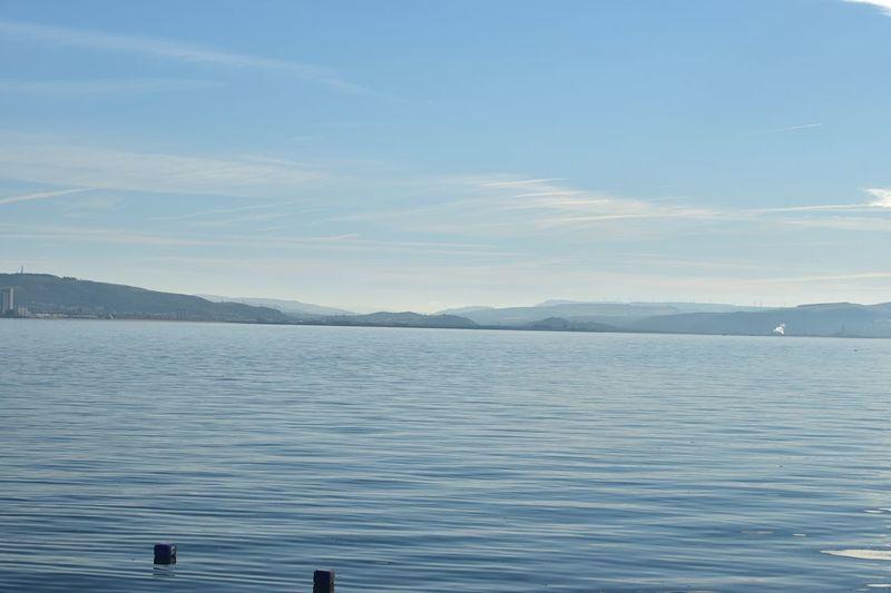 Taking Photos Swansea Bay Seascape Smoke Plume Silhouette Nikon D5500