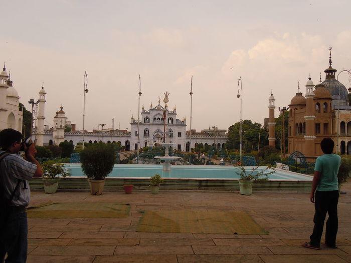 01201 Chota Imambara- Lucknow-India Adult Day Horizontal Nautical Vessel Outdoors People Person Sky Sunset Water