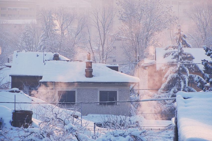Winter morning Great Atmosphere Photography Nature Snow VSCO Vscocam Winter Morning