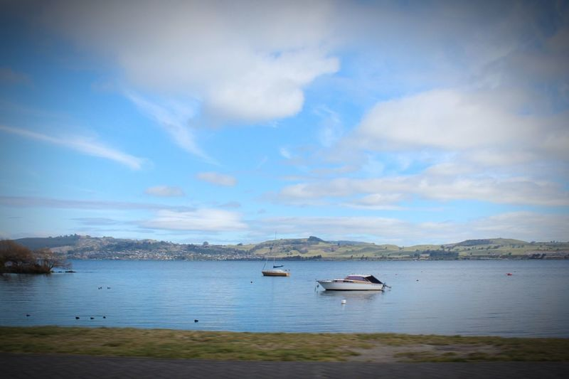 Canon 600D New Zealand Taupo Lake Taupo Scenics Water Beauty In Nature Boat