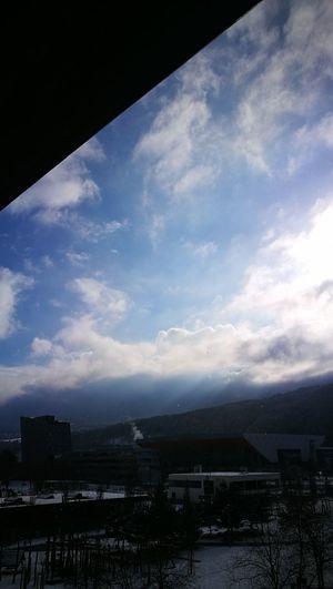 Cloud - Sky Window Sky No People Outdoors Building Exterior City