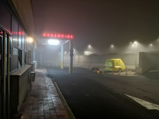 El Hierro, Canary Island, Spain Er Urgency Urgencias Hospital Niebla Occupation Fog Emergency Equipment