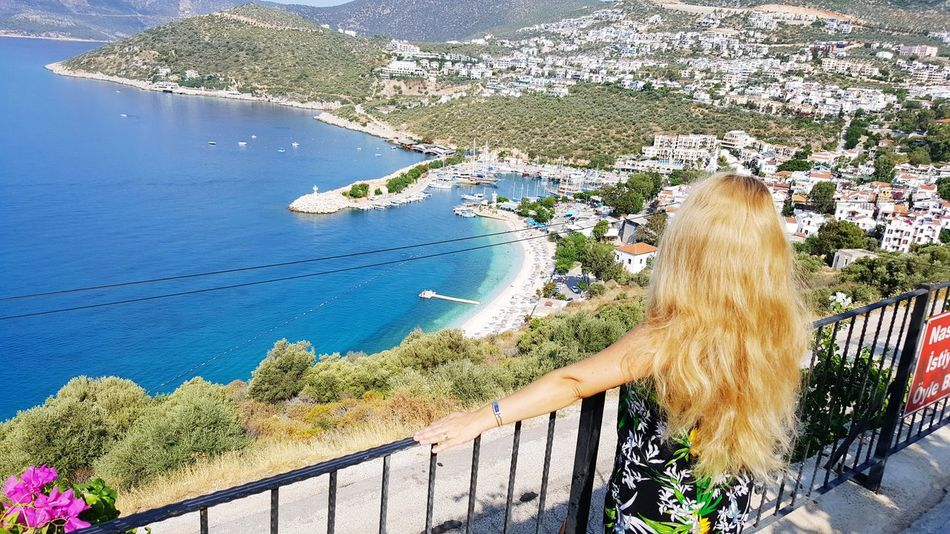 Kalkan beach Turkey Vista Panorámica Vista Mare EyeEm Best Shots EyeEm Nature Lover EyeEmNewHere Eye4photography  Water Tree Women Swimming Pool Beauty In Nature Scenics Tranquil Scene Horizon Over Water Tranquility Rocky Mountains Non-urban Scene Countryside