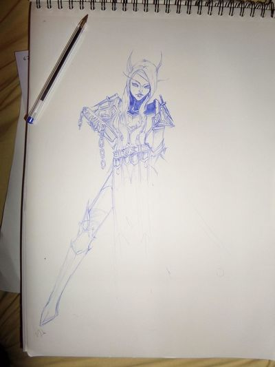 Sketch Art Sketching And Stuff World Of Warcraft
