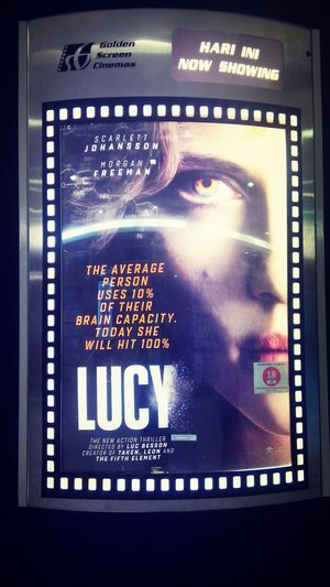 Now watching... Movies Lucy GSC Cinema