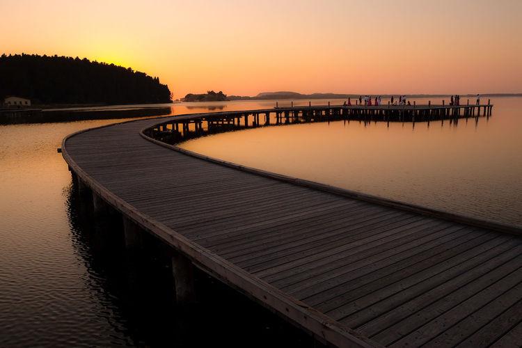 Lagoon Zvërnec