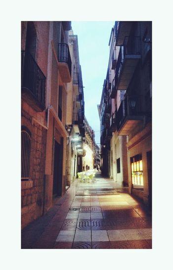 Litlle Street in SPAIN