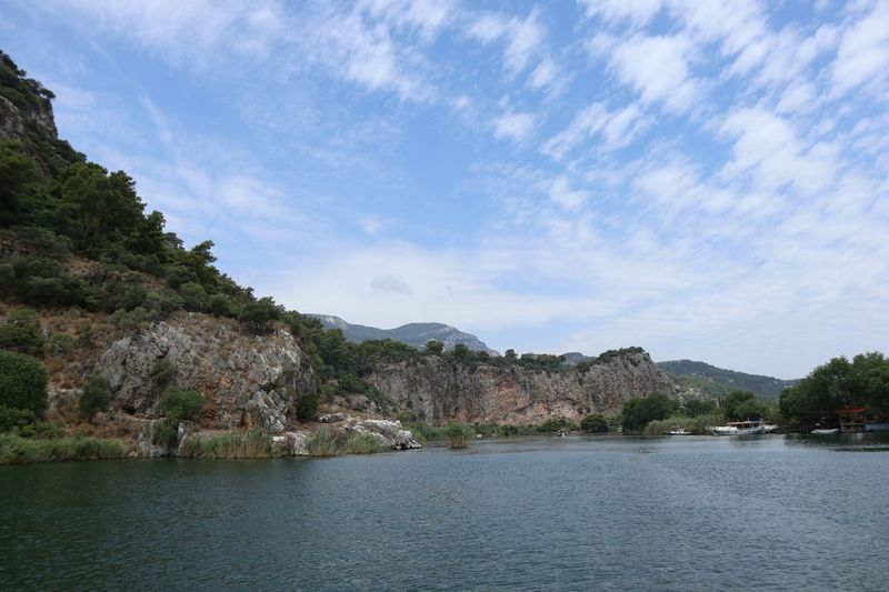 Boattrip Boat River Dalyan Water Sky Waterfront Tree Cloud - Sky Plant Beauty In Nature Nature Tranquility Outdoors