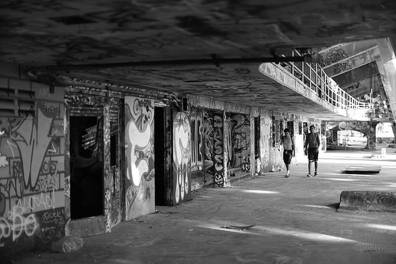 """city canvass"" Architecture mMenReal People Full Length Day EyeEmNewHere Streetphotography Graffiti Abandoned Places "" Blackandwhite Canon"