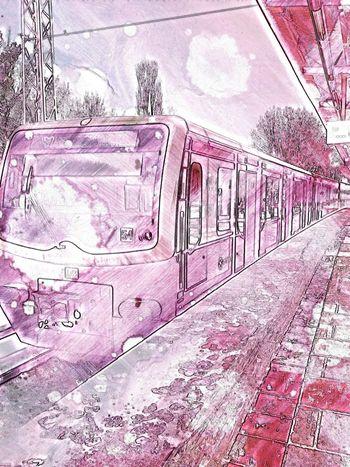 Sketch The Train