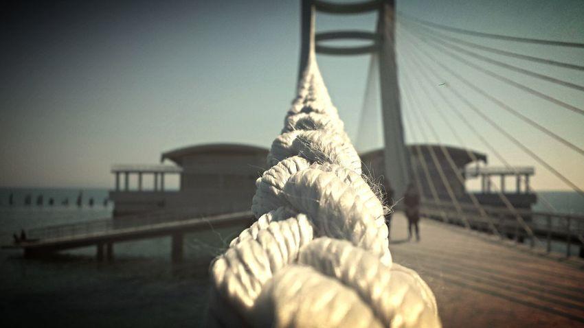 Taking Photos Sea And Sky Seaside Outdoors Summer Bridge
