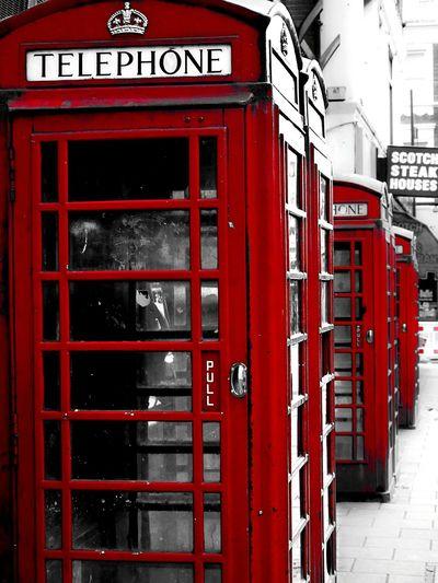 Urban 4 Filter telephone london uk red streetart