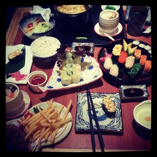 Mustard Sushi 吃!
