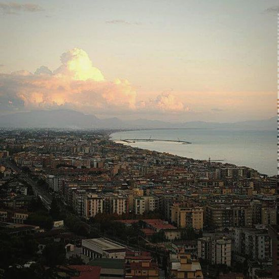 Salerno From The Rooftop Salerno♡ Italy Landscape_Collection Salerno