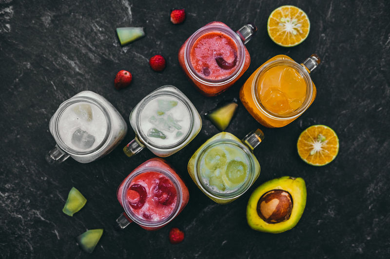 which one do you like? Still Life Colors Flat Lay Aerial View Blood Orange Citrus Fruit Drink Multi Colored Variation Lime Directly Above Black Background Orange - Fruit Vitamin C Lemon Fruit Juice Juicy Sour Taste