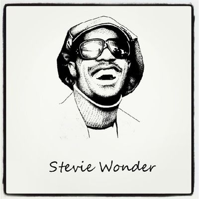 Fmsphotoaday . Day 7. Natural. Stevie is a natural talent!! StevieWonder Instgram Instadaily picoftheday photooftheday sketch aeesome