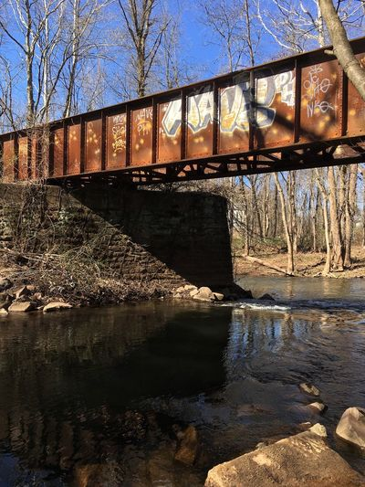 Trolley bridge over the Mattabasett River ✨🌲🛤🌲✨ Connecticut Rusty Tadaa Community Bridge Architecture Sunlight Bridge - Man Made Structure Built Structure Nature Water Outdoors Metal Graffiti No People