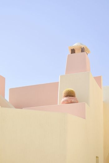 Eye-candy TheWeekOnEyeEM The Week on EyeEm EyeEm Best Shots EyeEm Selects Simplicity Minimalist Minimalism Minimalist Architecture Architecturelovers Architecture_collection Architectural Column Pastel Colored Pastel Greek Islands Santorini, Greece Santorini The Traveler - 2018 EyeEm Awards The Architect - 2018 EyeEm Awards Box Copy Space No People Architecture Nature Built Structure Day Creative Space The Architect - 2018 EyeEm Awards