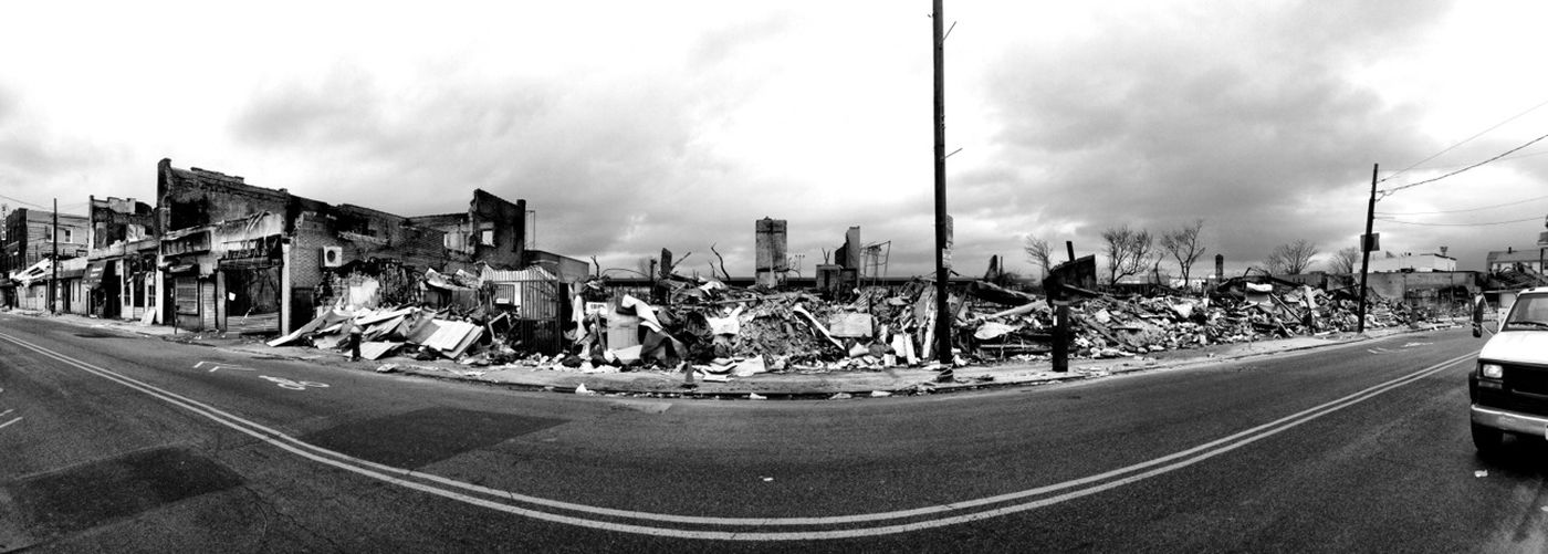 After Hurricane Sandy