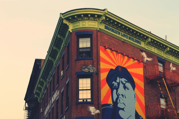 In Brooklyn Fort Greene ¡Comandante Biggie! NYC