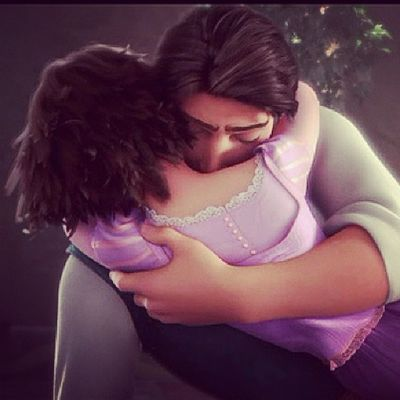 Flynn:You were my new dream. Rapunzle:And you were mine. Innocentlove Fairytales Goosebumbs Instamovie tangled instalove