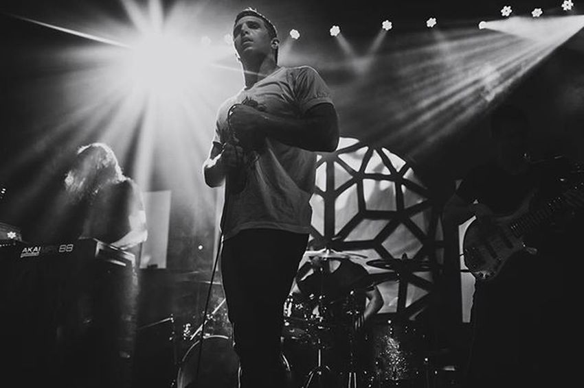 The Contortionist @thecontortionist Bw LiveMusic Concertphotography Blackandwhite Band Live Rock Metal ProG Canon Thecontortionist Comaecliptictour