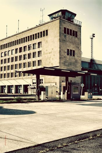 Berlin Airport Tempelhof Zentralflughafen Old Buildings