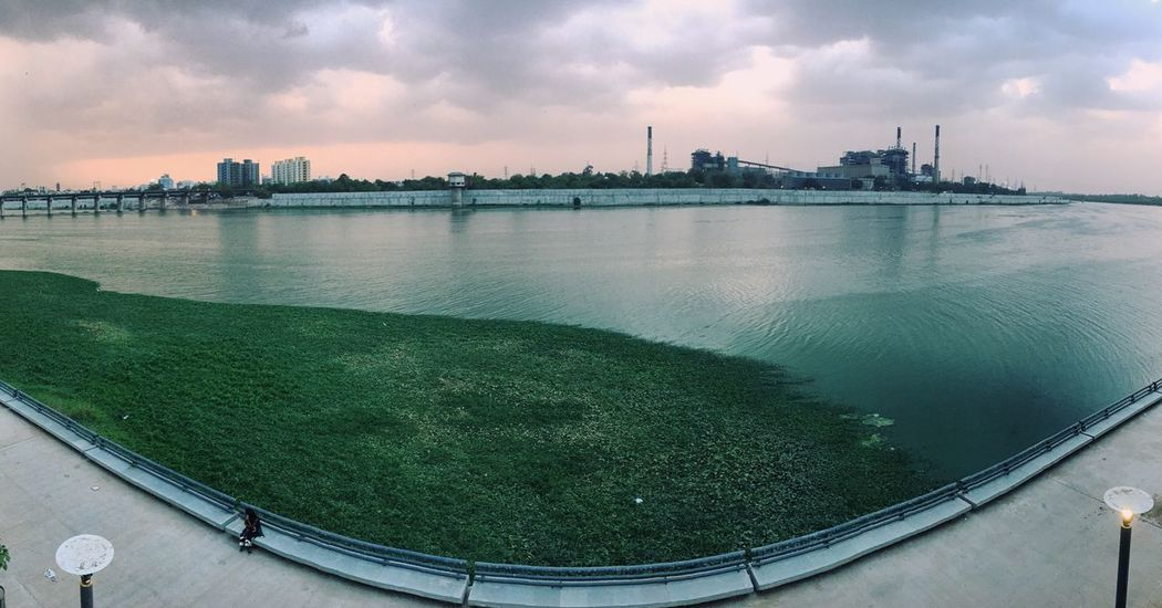 Colour Of Life The colour of cityscape, the colour of water, grass, that of cloud and just something wow Flying High