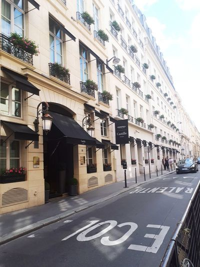 Paris Hotel Hotel View Hotel Exterior Hotel On Street Street Window View Windows Windows On The Wall As Background City Road Sign Communication Text Sky Architecture Building Exterior Built Structure