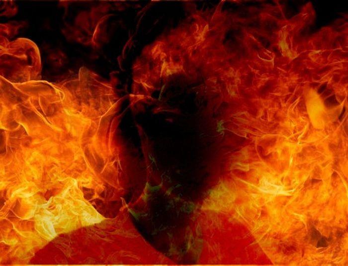 Photoshopped Burning Itsmebytheway