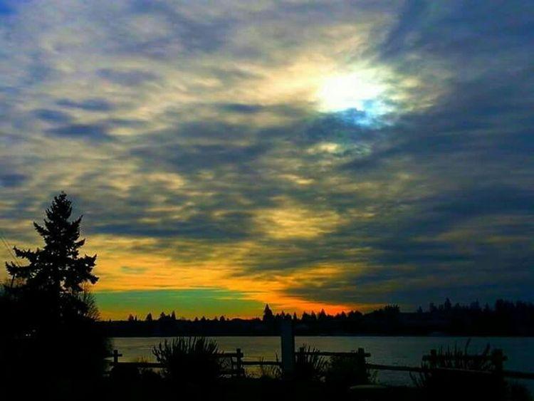 Epic Shot Photography Natureandsky Eyeemsunset Northwestsunsets Sunset #sun #clouds #skylovers #sky #nature #beautifulinnature #naturalbeauty #photography #landscape Treehugger Summer Vibes