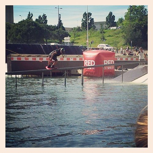 Final Fise Montpellier Wakeboard sun