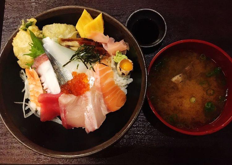 海鮮丼 税込995円ランチ Lunch ランチ 海鮮丼 Seafoods Japan 日本 大阪 OSAKA ハービス