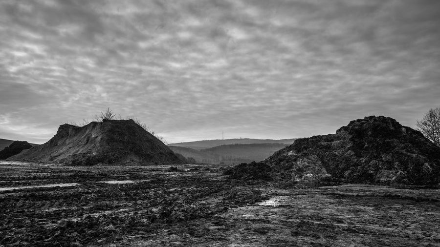 16:9 April Donnersberg Donnersbergkreis Agricultural Land B&w Black Black And White Bnw Canon Cloud - Sky Day Environment Germany Land Landscape No People Non-urban Scene Outdoors Rhineland-palatinate Scenics Sky Tranquil Scene Tranquility White