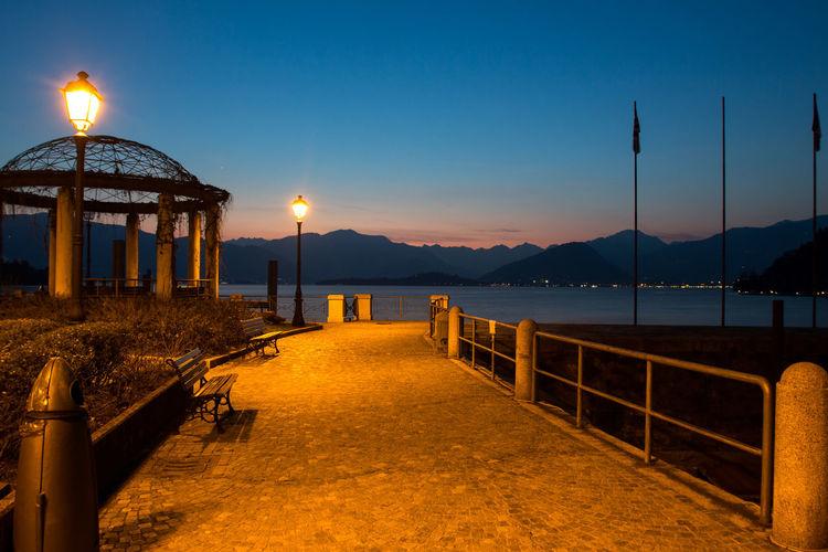 Architecture Built Structure Lago Maggiore No People Scenics Sky Sunset Travel Destinations Water