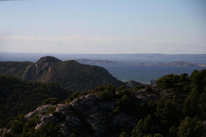 Blue Sky Mediterranean  Mountain Méditerranée Outdoors Scenics Sea Tranquil Scene Trip Vacations